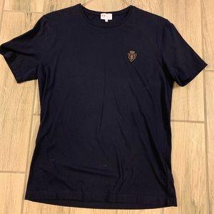 Gucci authentic men's XXL navy logo t'shirt